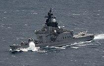 JS Kurama in the Pacific Ocean 02.jpg