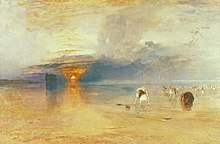 J M W Turner - Calais Sands at Low Water - Poissards Collecting Bait