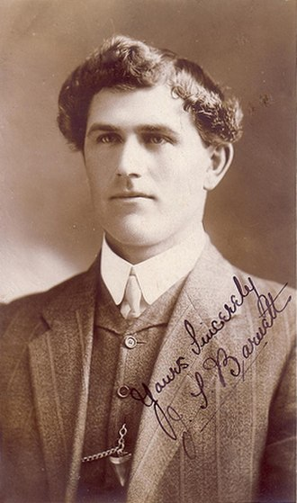 1910 NSWRFL season - Image: Jack Barnett 1908