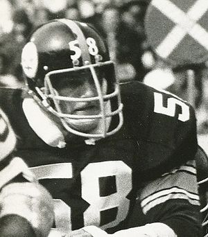 Jack Lambert (American football) - Lambert in December 1975