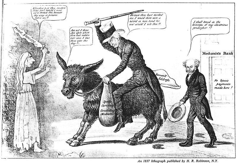 Jackson and Van Buren, 1837 - Instrukzioak