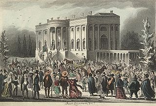 First inauguration of Andrew Jackson