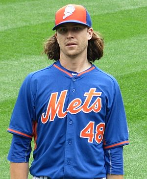 Jacob deGrom - deGrom with the Mets in 2016