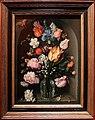 Jacob de gheyn II, fiori in una bottiglia di vetro, 1612.jpg