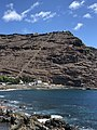 Jacobs Ladder viewed from the harbour of Jamestown.jpg