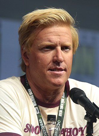 Jake Busey - Busey at the 2018 San Diego Comic-Con