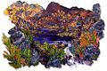 James Hawkins painting 'Lochan Sal, Inverpoly' acrylic on carbon fiber 2012.jpg