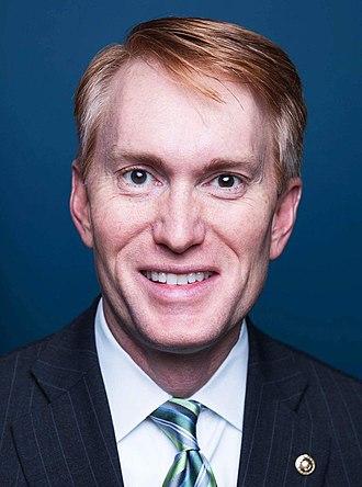 Politics of Oklahoma - U.S. Senator James Lankford