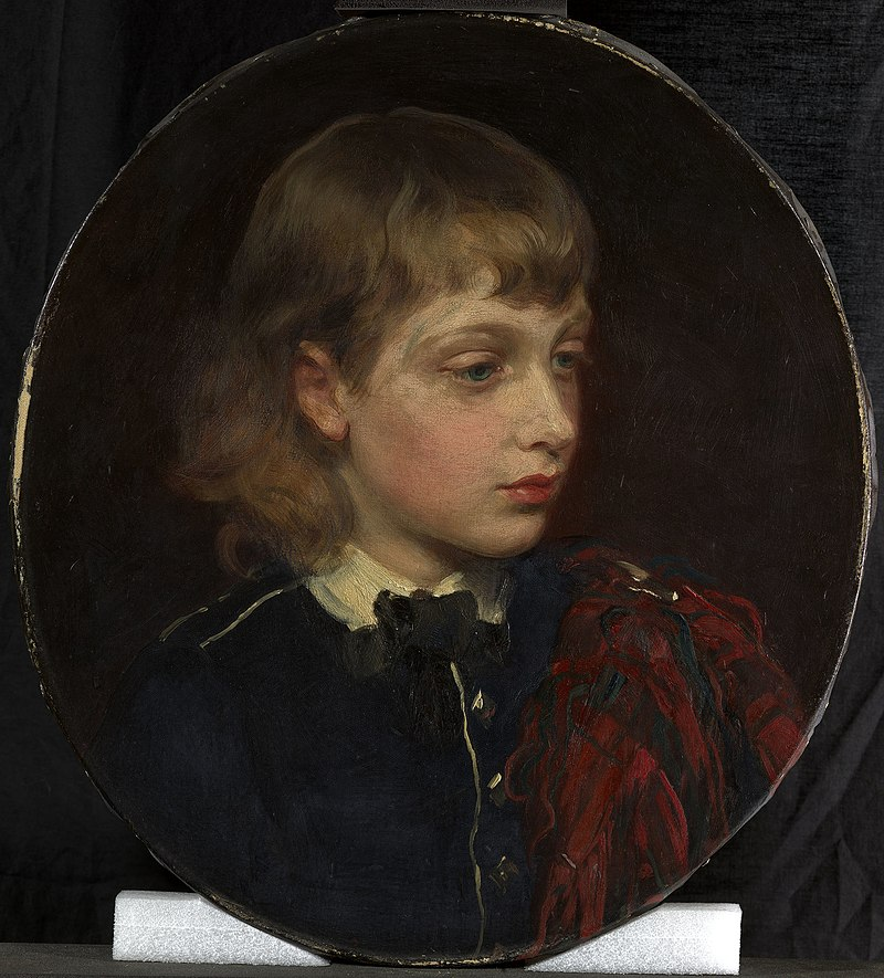 James Sant (1820-1916) - Prince Albert Victor of Wales (1864-1892) - RCIN 404996 - Royal Collection.jpg