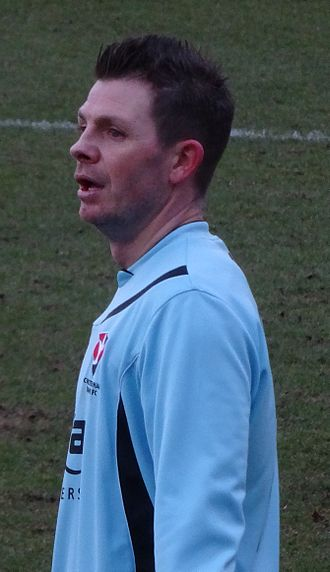 Jamie Cureton - Cureton playing for Cheltenham Town in 2014