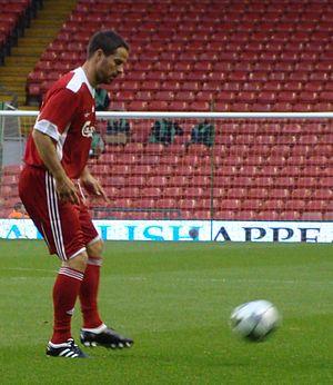 Jamie Redknapp - Redknapp during Hillsborough Memorial Match (2009)