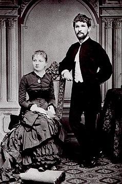 Janacek with wife