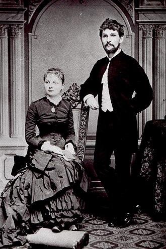 Leoš Janáček - Image: Janacek with wife