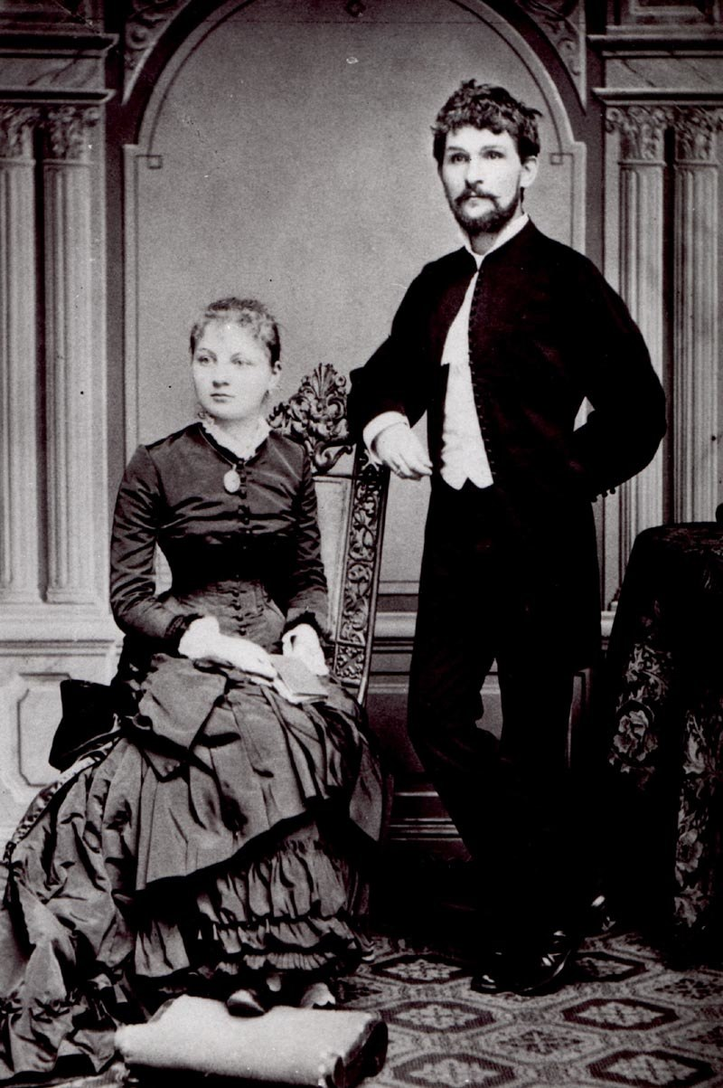 Janacek with wife