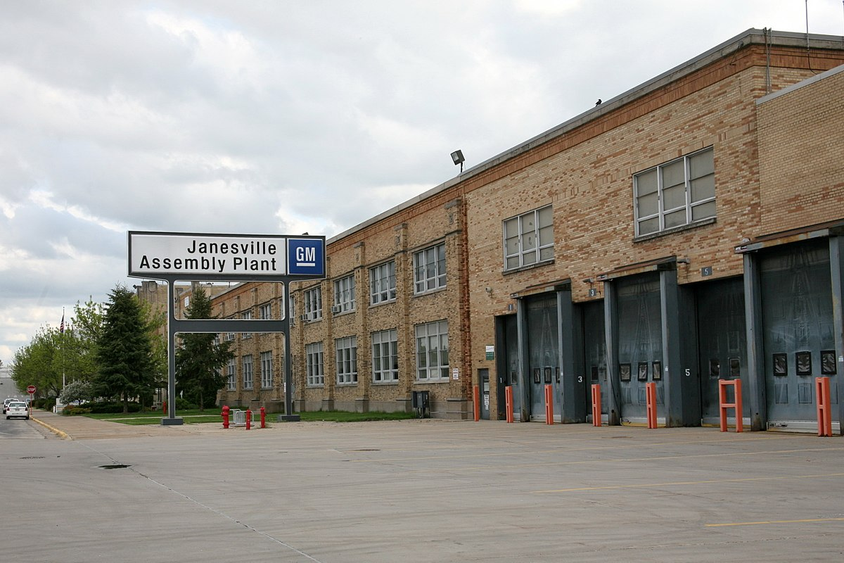 Janesville Assembly Plant Wikipedia