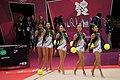 Japan Rhythmic gymnastics at the 2012 Summer Olympics (7915477328).jpg