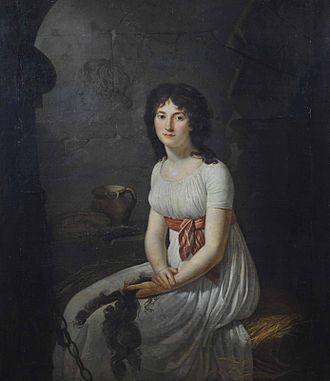Thérésa Tallien - Citizen Tallien in a cell in La Force Prison, by Jean-Louis Laneuville, 1796
