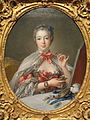 Jeanne-Antoinette Poisson, Marquise de Pompadour, by Francois Boucher, 1750 with additions by c.1750 and by 1781 - Fogg Art Museum - DSC02299.JPG