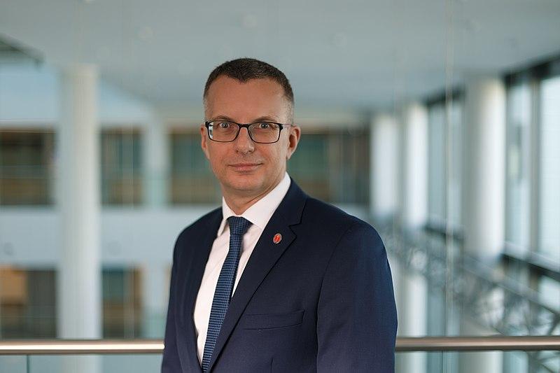 Jego Magnificencja Rektor Prof. Marcin Gruchała fot, Dariusz Giers