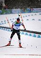 Jeremy Teela in biathlon - men's sprint at 2010 Winter Olympics.jpg