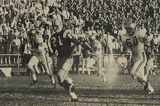 Jerry Stovall - Stovall returning a kickoff for LSU in 1962