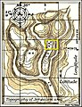 Jerusalem area and the holy sites - Numerical Synchronicity.jpg