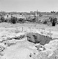 Jeruzalem. Gezicht op de citadel met de Toren van David. Op de voorgrond de re, Bestanddeelnr 255-2384.jpg