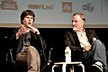 Jesse Eisenberg - David Fincher - The Social Network - 2010 New York Film Festival - 02.jpg
