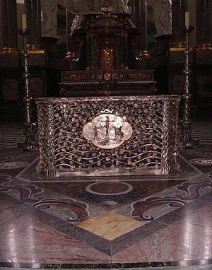 Jesuit Church, Mannheim - High altar in Silver and Bronze