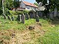Jewish gravestones in Esztergom, Hungary.jpg
