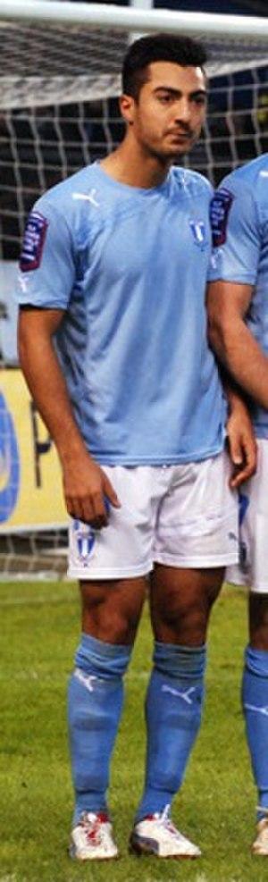 Jiloan Hamad - Hamad playing for Malmö FF in 2013