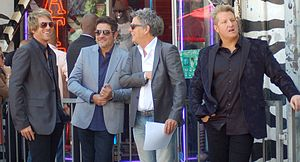Rascal Flatts - Rascal Flatts with David Foster at a ceremony to receive a star on the Hollywood Walk of Fame in September 2012
