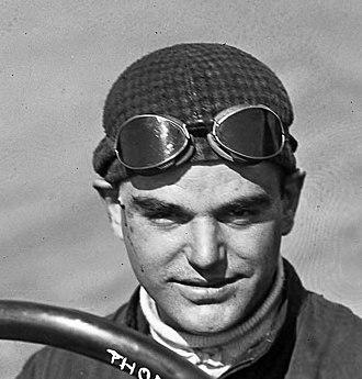 Joe Thomas (racing driver) - Joe Thomas in 1914