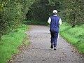 Jogging at Cranny - geograph.org.uk - 1002880.jpg