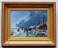 Johan Barthold Jongkind (1819-1891), Wintergezicht met schaatsers, 1864, Olieverf op doek.JPG