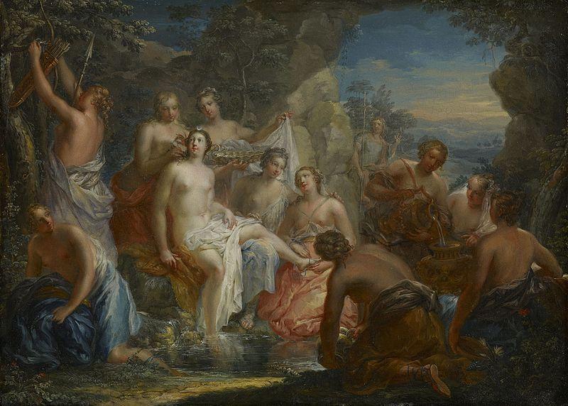 File:Johann Georg Platzer - Das Bad der Diana.jpg