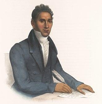 Treaty of New Echota - John Ridge