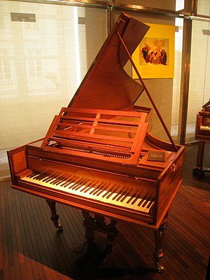 John Broadwood - An 1810 Broadwood grand, now in the Musical Instrument Museum in Brussels