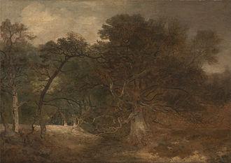 John Crome - Woodland Landscape near Norwich