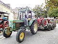 John Deere 2030 with IH tractor on trailer (2).jpg