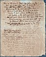John Keats - To Autumn Manuscript 2 unrestored.jpg