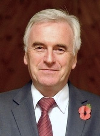 Shadow Chancellor of the Exchequer - Image: John Mc Donnell 2011 (cropped)