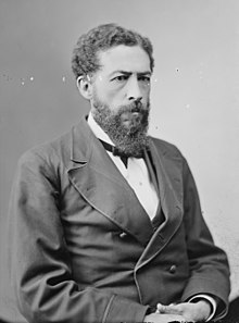 John Mercer Langston, the first black man to represent Virginia in the U.S. House of Representatives.