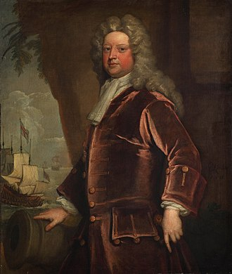John Norris (Royal Navy officer) - John Norris by Godfrey Kneller in 1711