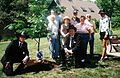John Rusek memorial tree planting group 2008.jpg