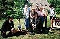 John Rusek memorial tree planting group 2008.jpg