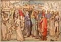 John everett millais, un barone che conta i suoi vassali, 1850.jpg