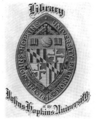 Johns Hopkins University bookplate.png