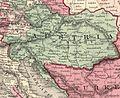 Johnson, A.J. Europe. 1864.F.Austria Hungary.jpg