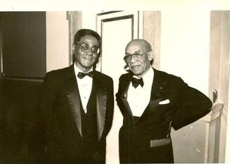 Charles R. Johnson - Johnson with Ralph Ellison